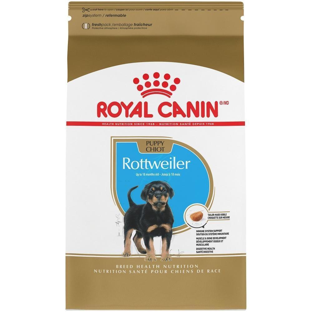 Royal Canin Breed Health Nutrition Rottweiler Puppy Recipe Dry Dog
