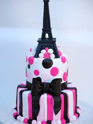 Tremendous Top Paris Cakes This Would Be A Perfect Birthday Cake For Me Funny Birthday Cards Online Elaedamsfinfo