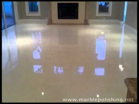 How To Re Polish Marble Floors By Hand In Ft Lauderdale Re