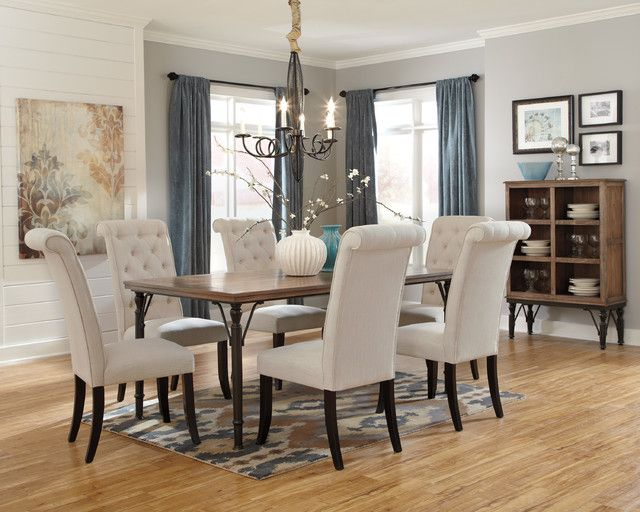 How To Update An Old Dining Room Set Endearing Comedor Tripton #ashleyfurniture  Interiors  Dinning Room Design Inspiration