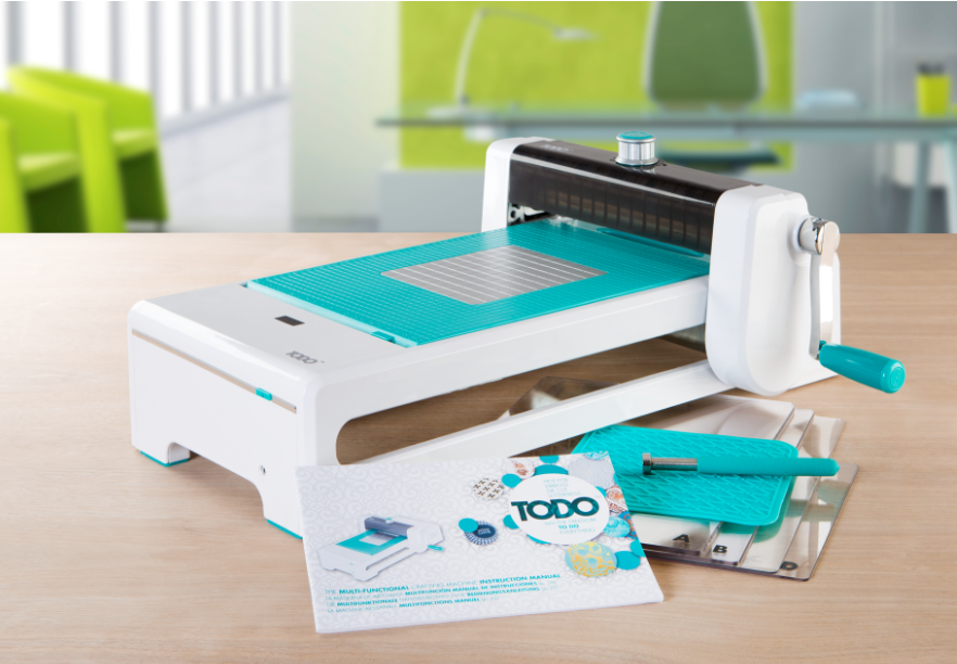 Check out the new todo die cut machine from create and for Craft die cutting machine