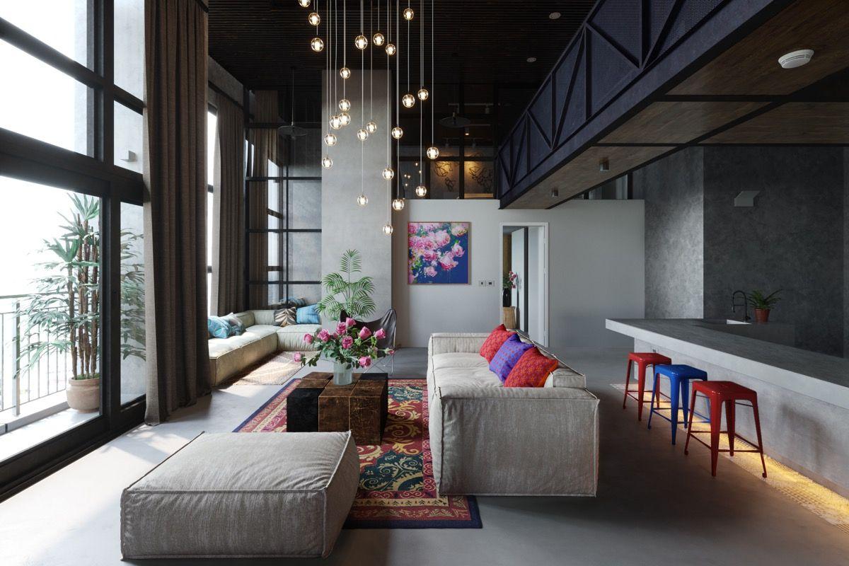 50 moderne Wohnräume, die das Herzstück Ihres Hauses bilden ...