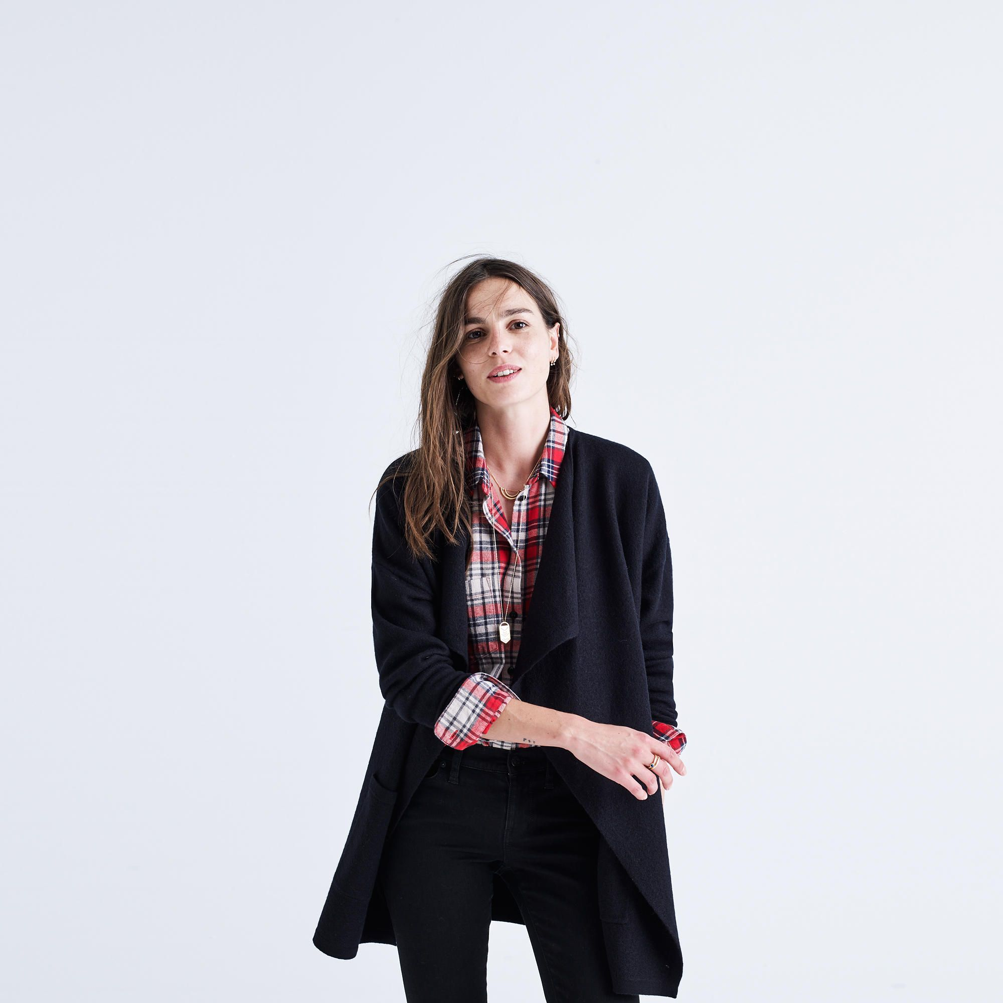 Meridian Sweater-Jacket | Smooth