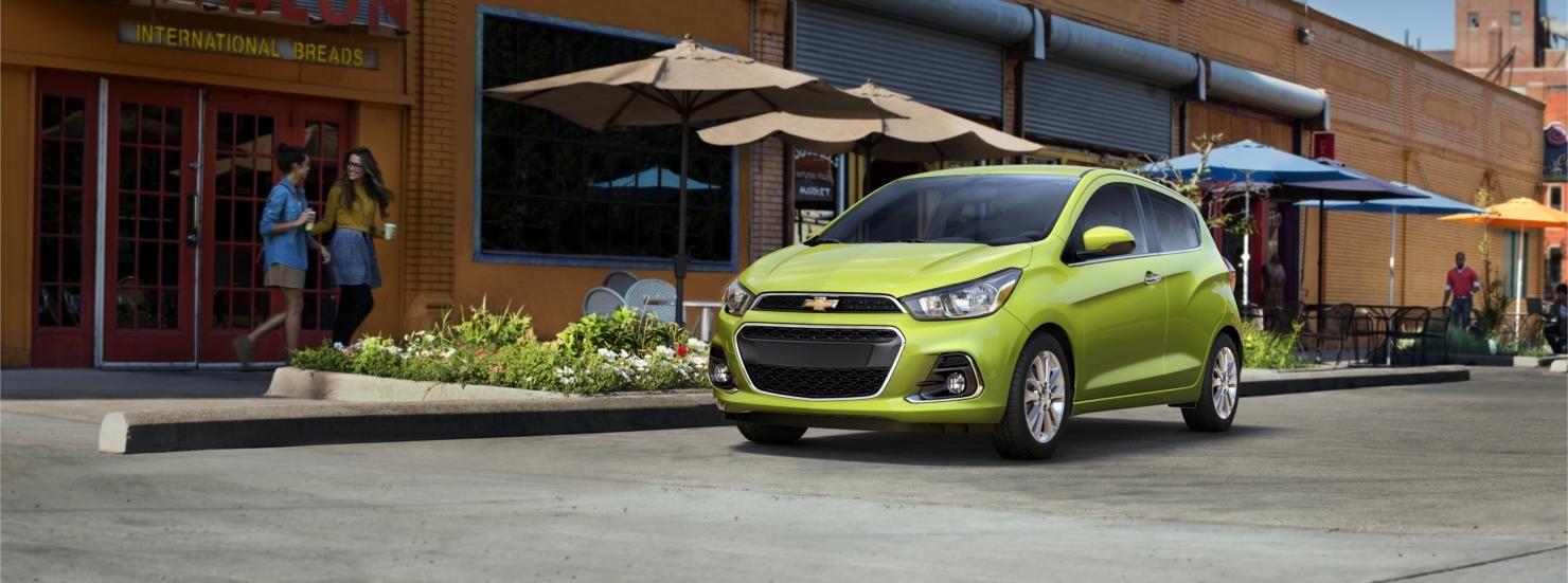AllNew 2016 Spark FuelEfficient Car Chevrolet Fuel