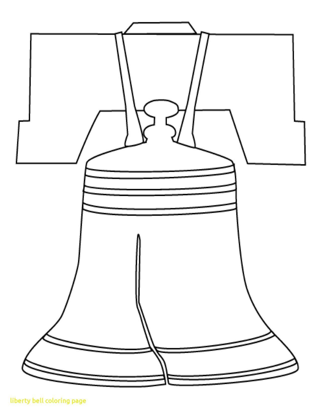 Liberty Bell Coloring Page Beautiful Coloring Printable Pencil