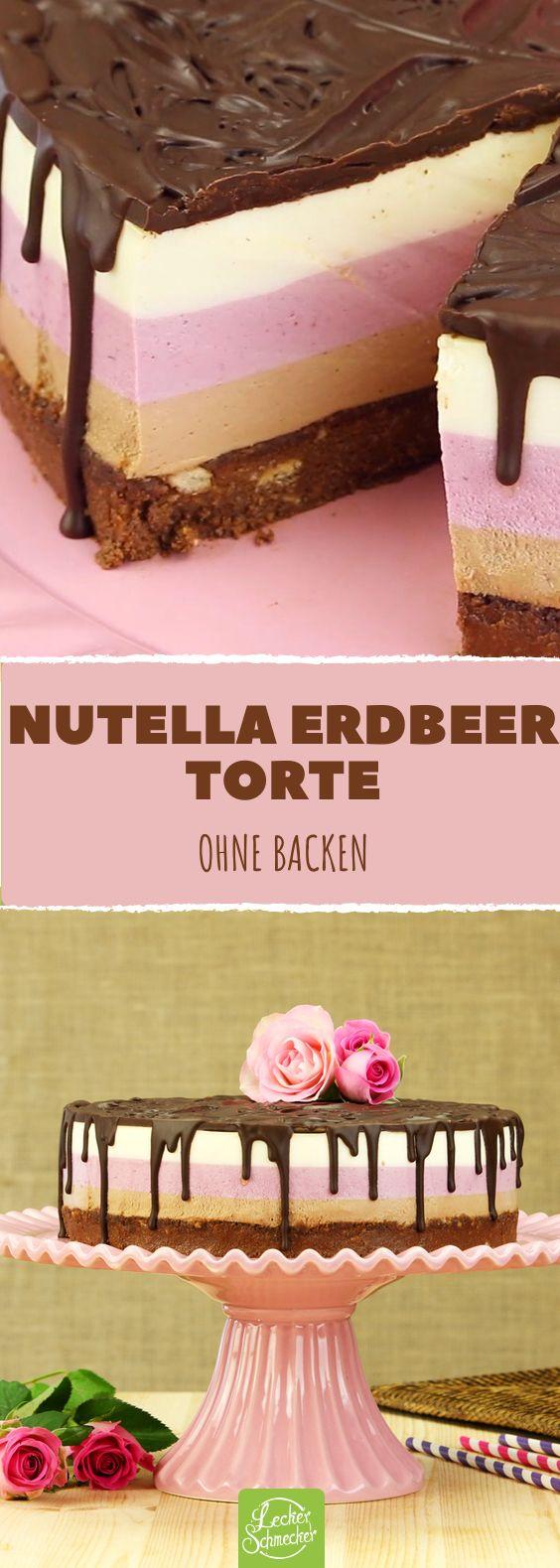 3 Schichten, 3 Farben, 3 Geschmacksrichtungen: Nutella ...