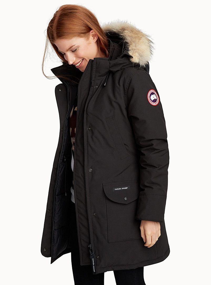 Trillium Parka Canada Goose Shop Women S Anoraks And Parkas Simons Women Anorak Canada Goose Women Parka Outfit