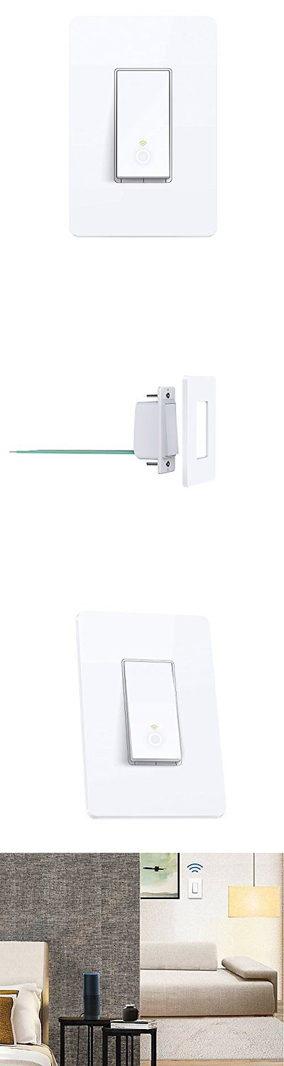 home automation modules tp link smart wifi light switch works with