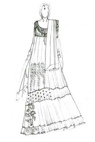 Sabyasachi Lehenga Sketches Google Search Fashion Design Drawings Fashion Illustration Dress Drawing