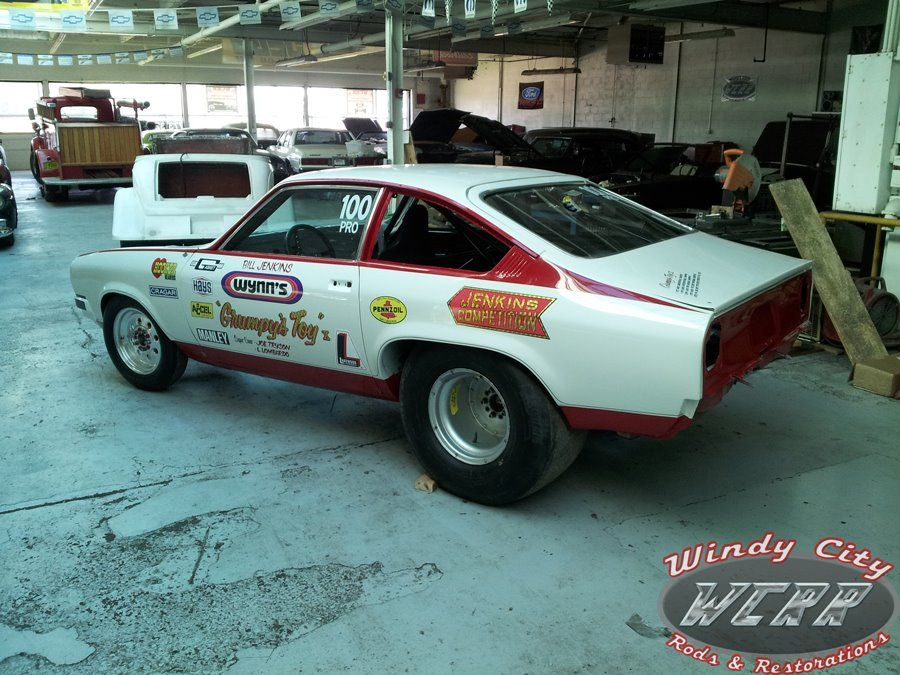 A real Grumpy Jenkins Chevy Vega restored by Windy City Rods and ...