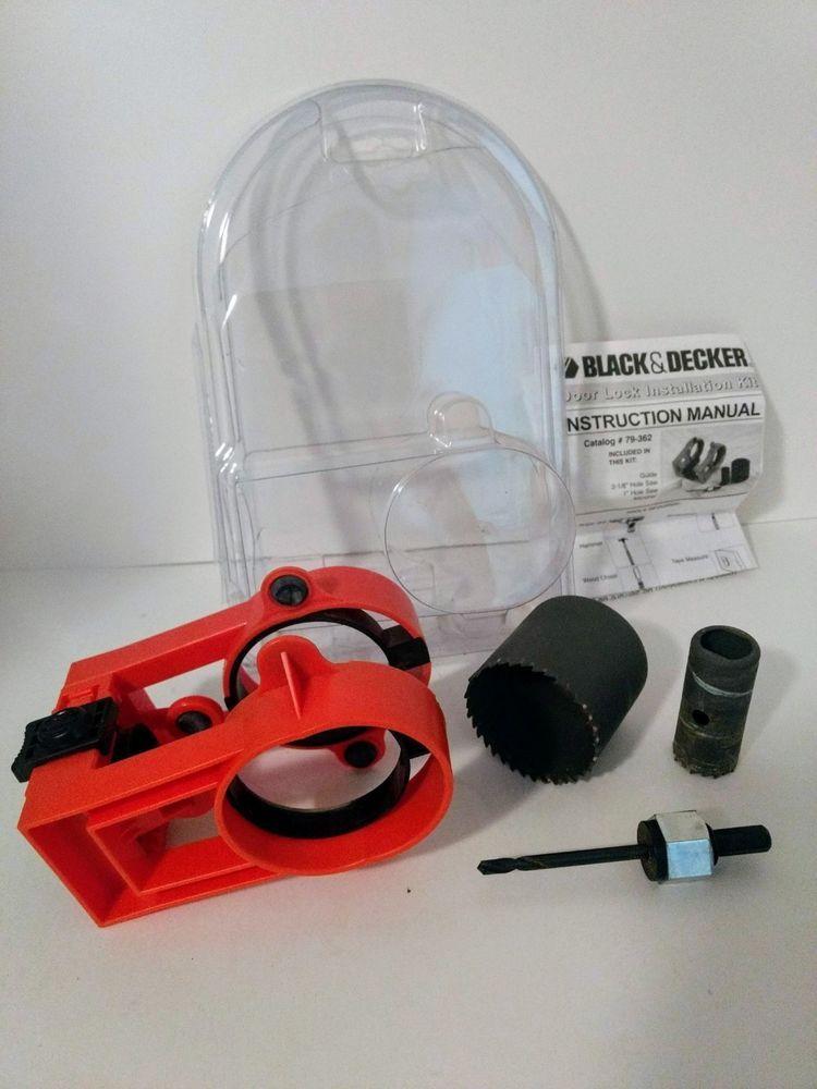 Black Decker 79 362 Hcs Door Lock Installation Kit Blackdecker