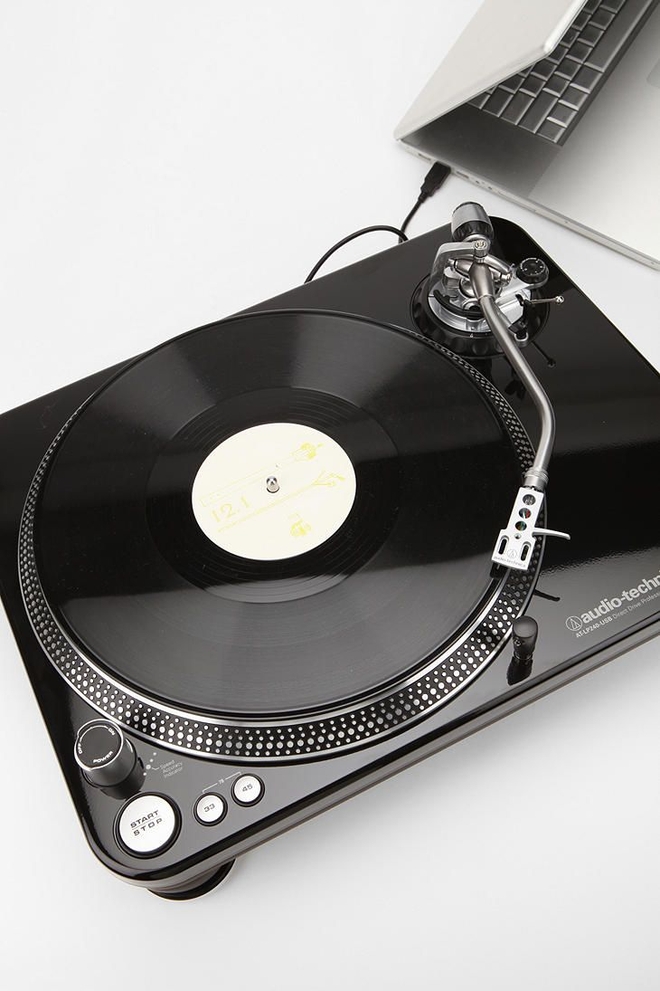 Performance Turntable By Audiotechnica Turntable Vinyl Music Record Players