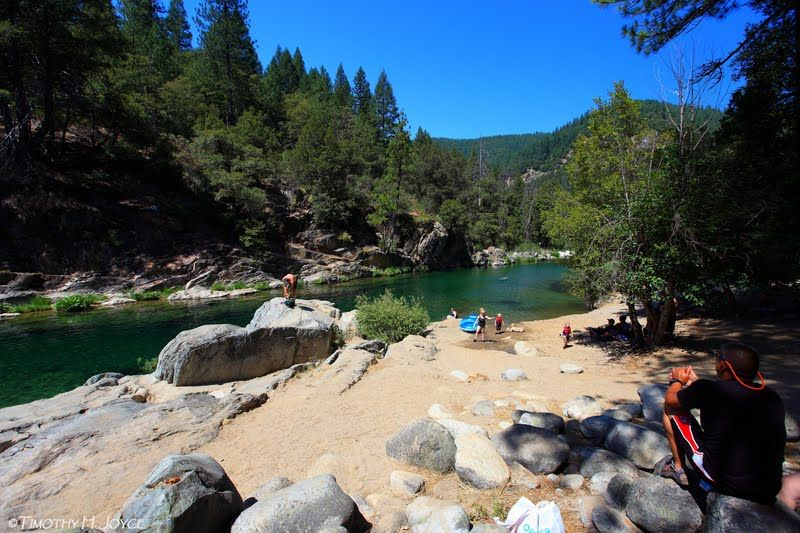 Swimming Holes of California: Gold Quartz - South Fork, Yuba River