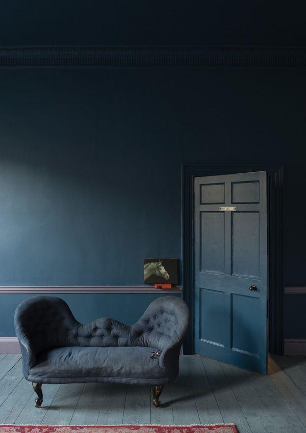 Farrow Ball Une Peinture Bleu Pétrole Petrol In 2019