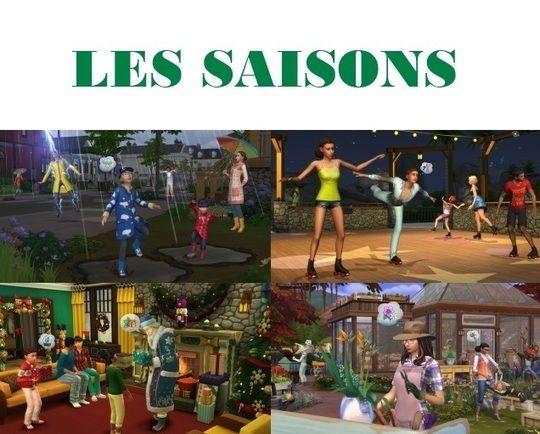 Mes premières découvertes : Les Sims 4 Saisons (Partie1