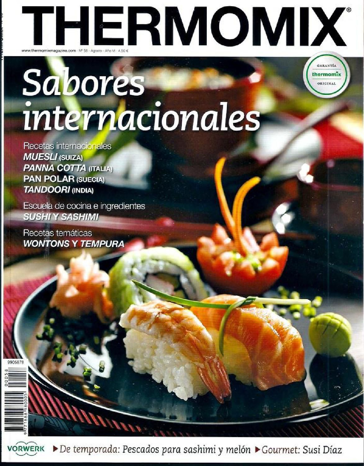 Libros Electronicos Thermomix Revista Thermomix Nº58 Sabores Internacionales By Argent