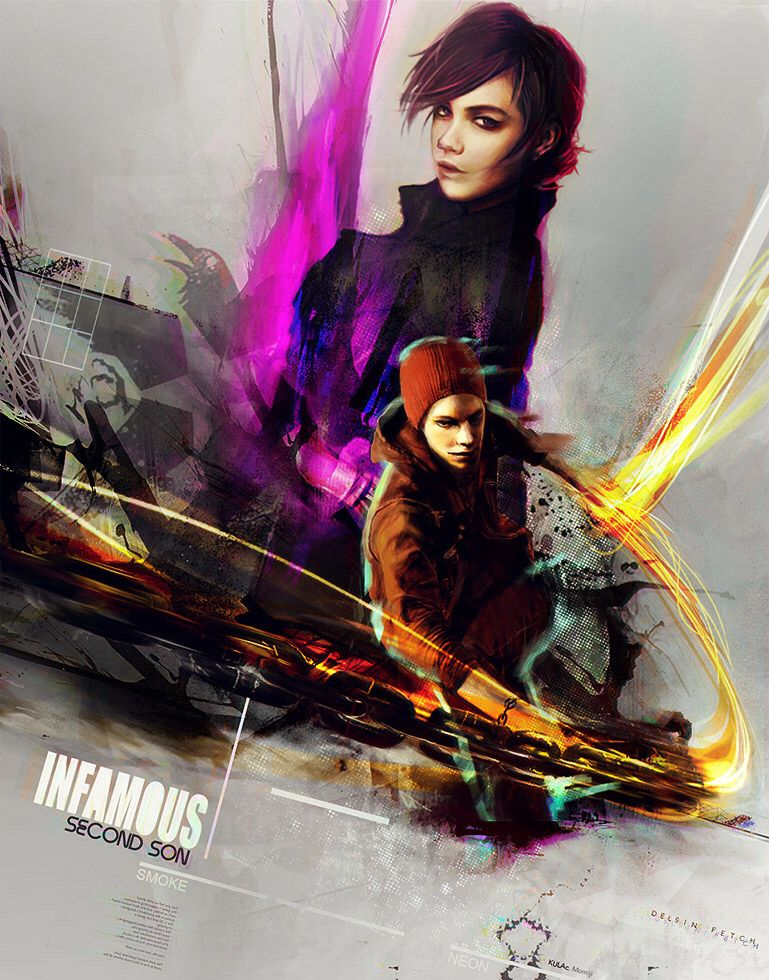 Infamous second son delsin and fetch hook up