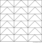 Flying Geese Make A Chevron Pattern Coloring Pages Coloring Pages Quilt Patterns
