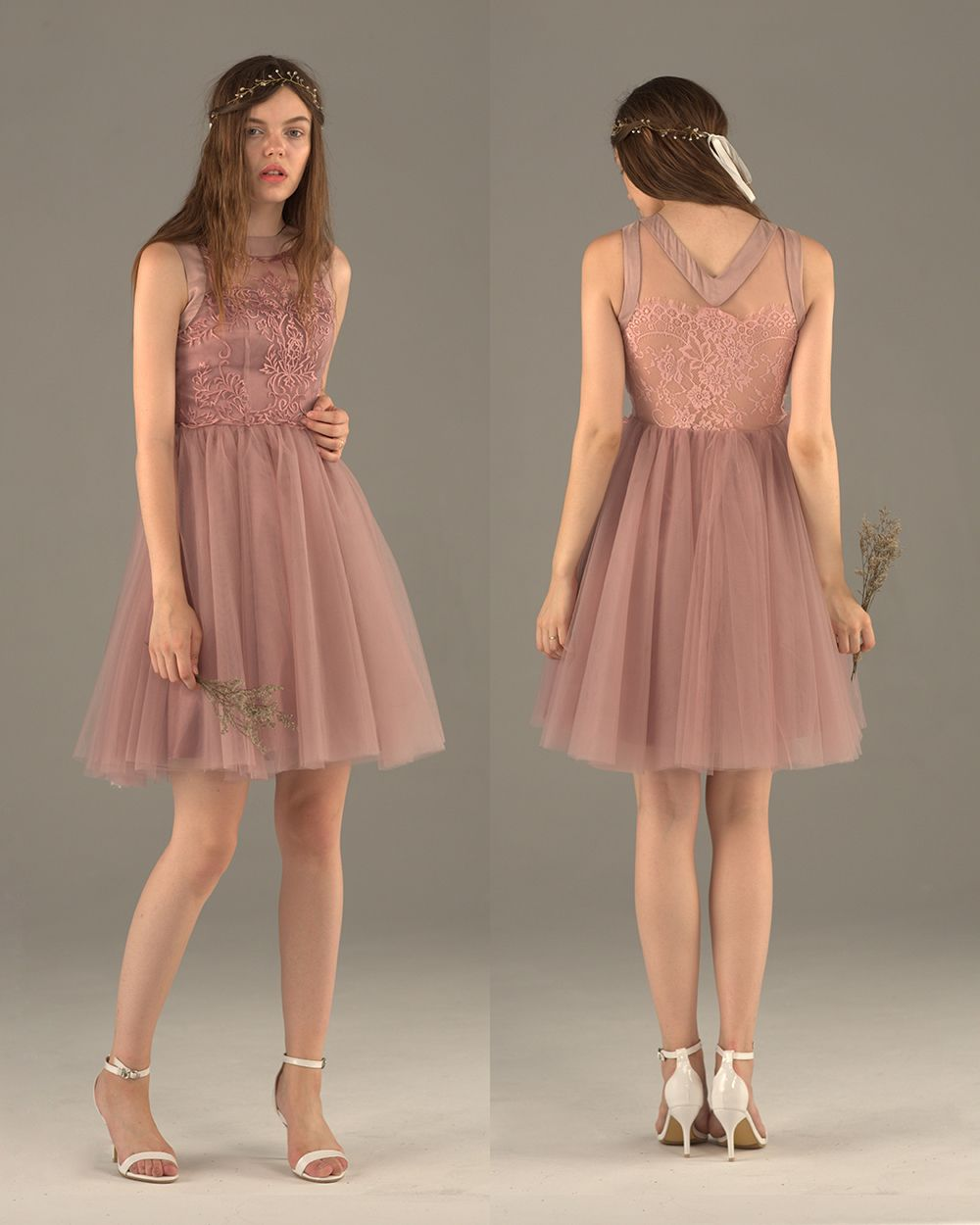 Dusty Rose Bridesmaid dress e5c4a19bf648