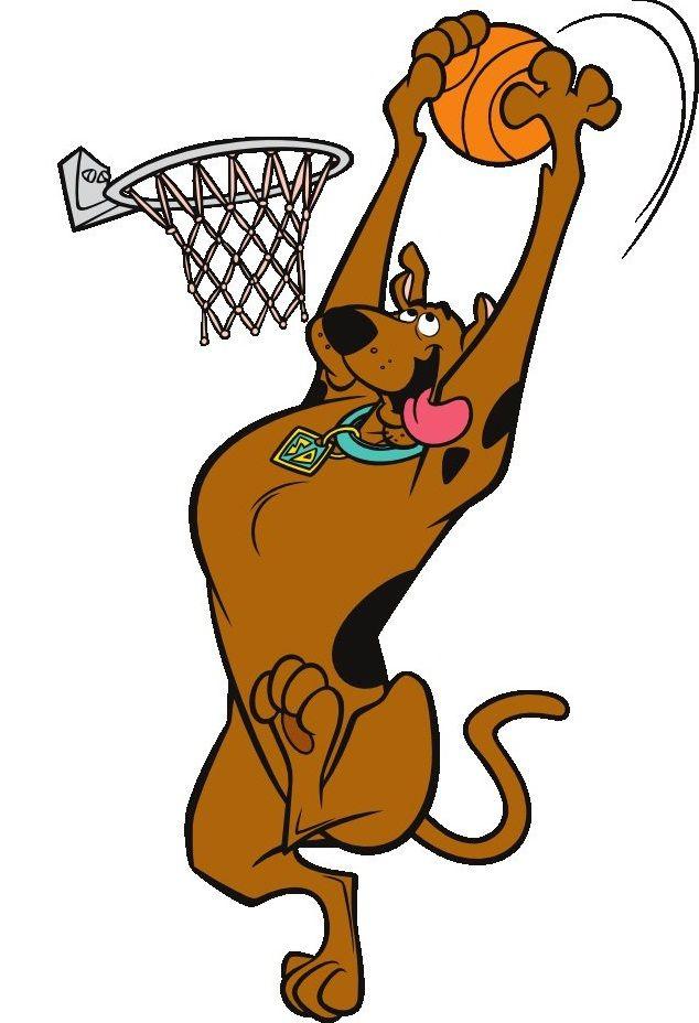 Shooting Hoops With Scooby Doo Summer Scenes Pinterest Scooby