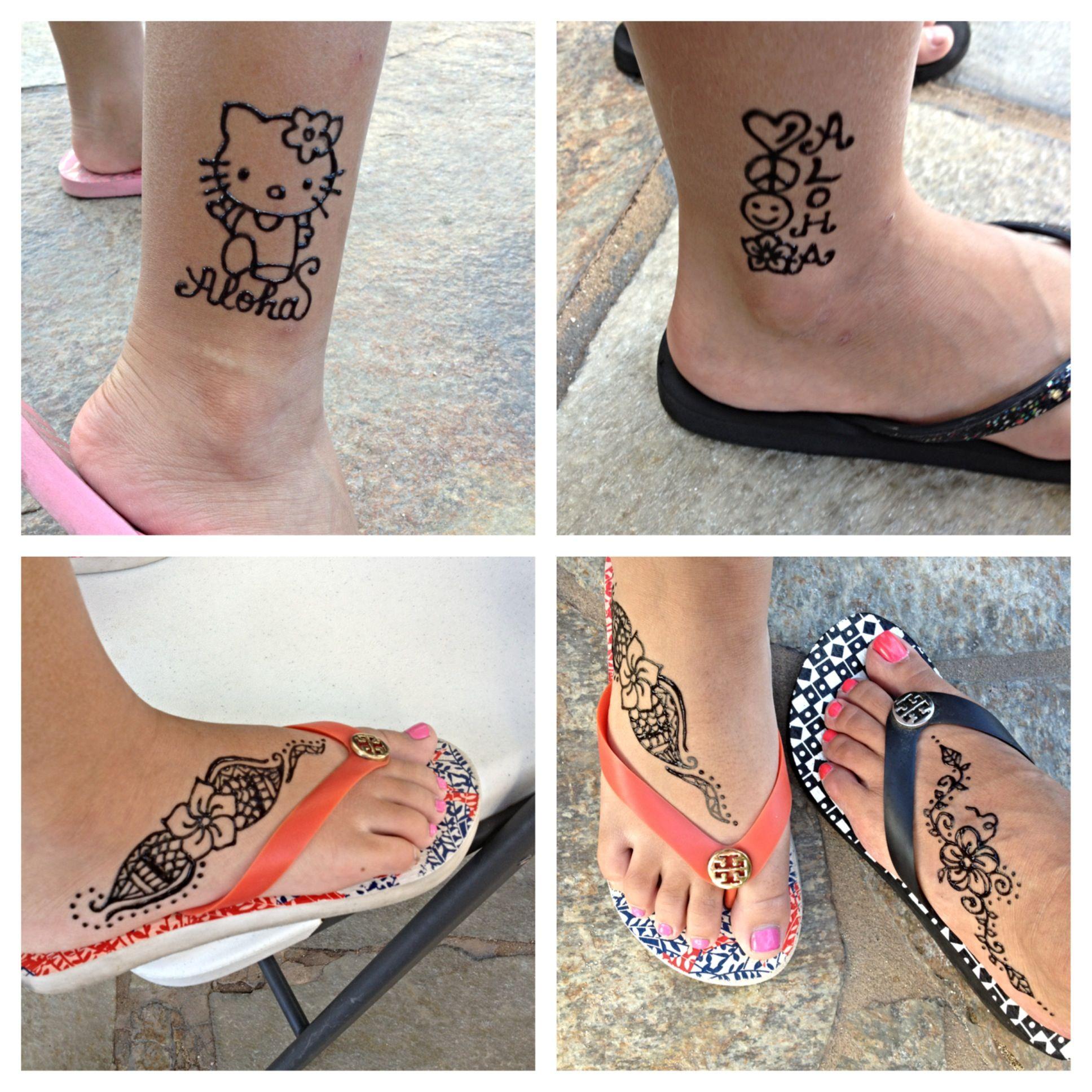 Polynesian Henna Tattoo: Hawaiian Designs Henna Tattoos