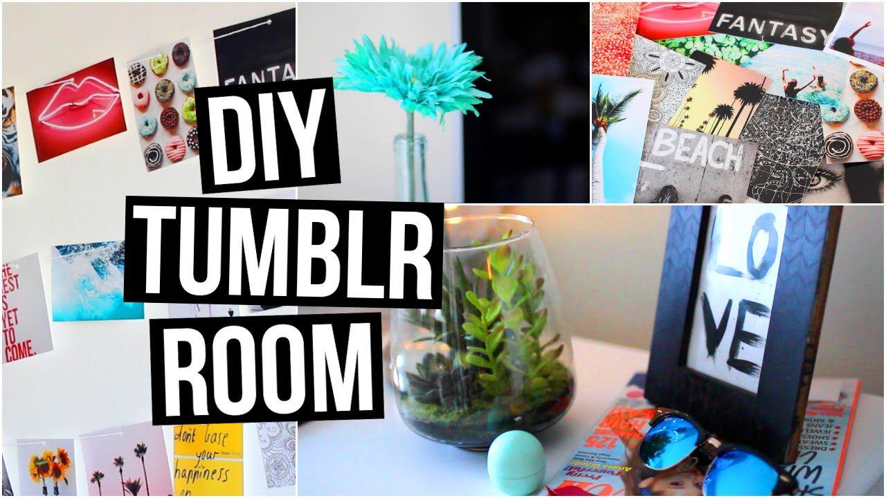 DIY Room Decor // Make Your Room Look Tumblr! Cheap & Cute! | Room ...