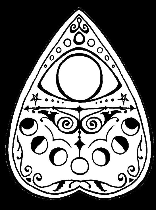 decorative planchette doodles. | sugarman\'s collection of the odd ...