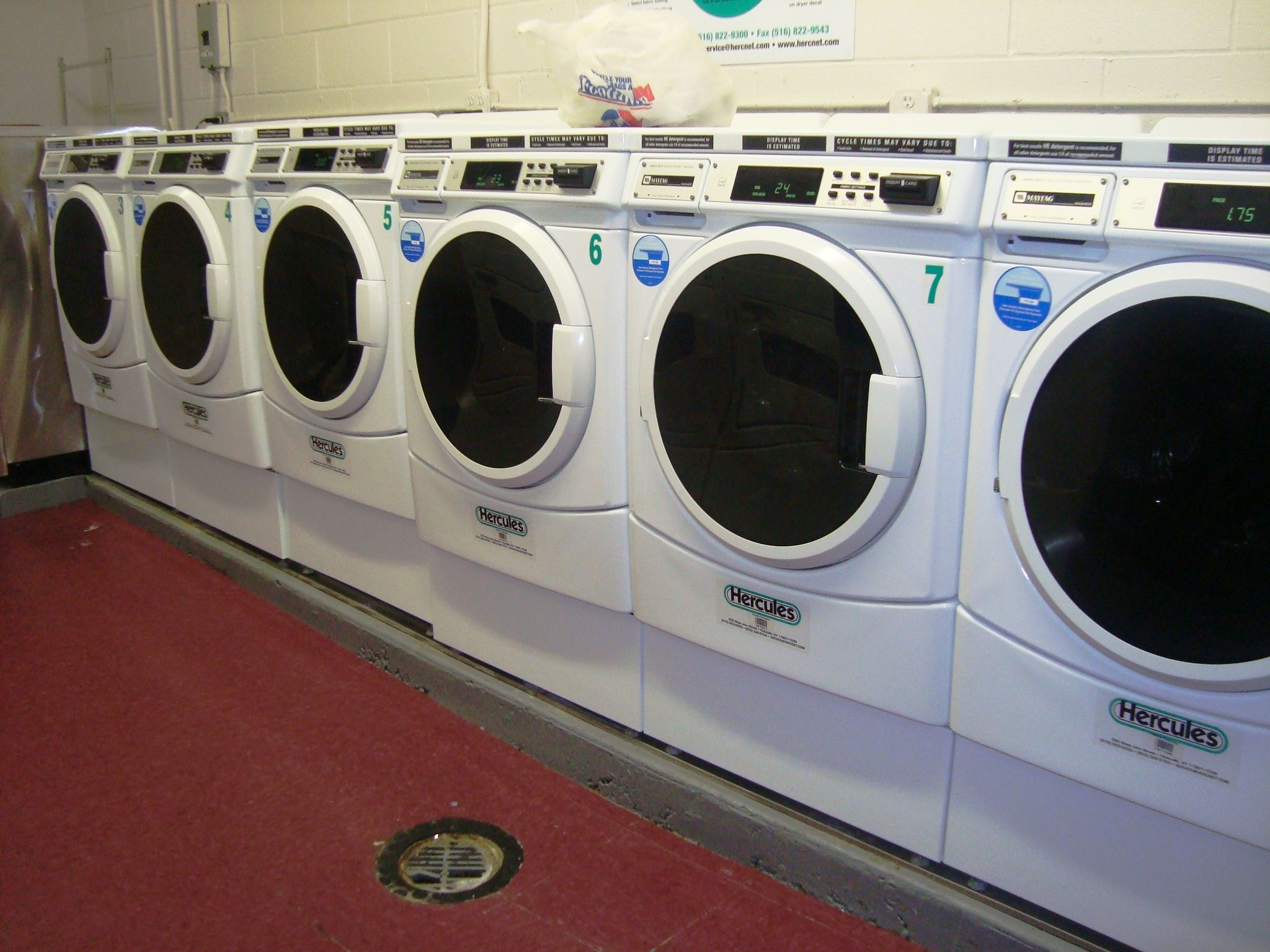 The laundry room at the Quincy has been recently renovated as well!