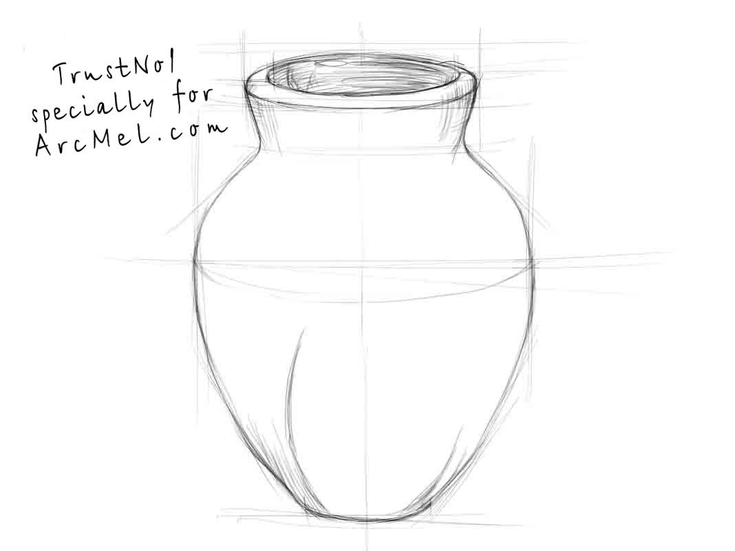 Simple drawing of flower vase the best flowers ideas flowers simple drawing of flower vase the best flowers ideas reviewsmspy
