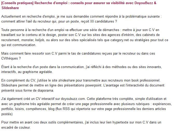 monster cv en ligne