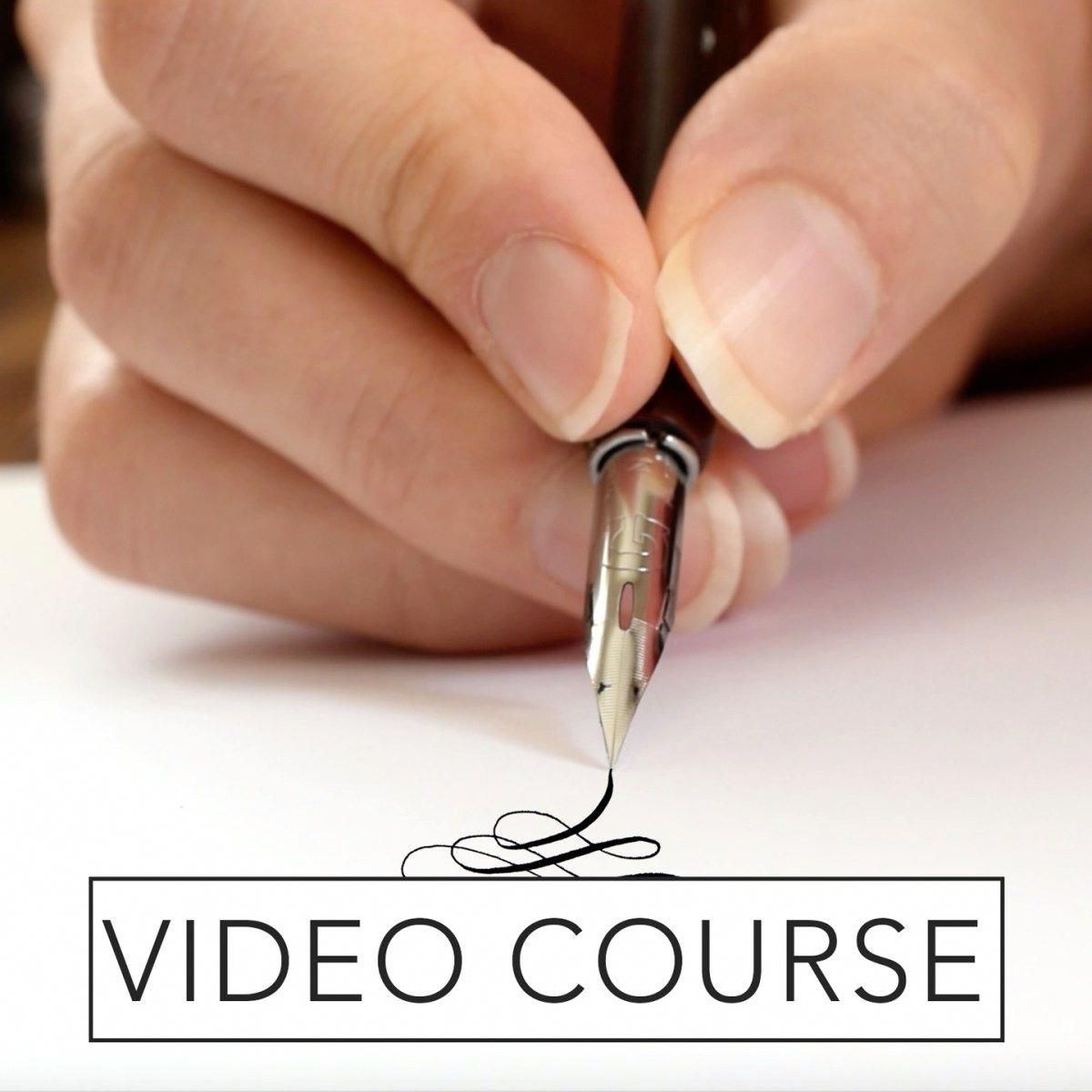 Beginner S Modern Calligraphy Online Course The Postman