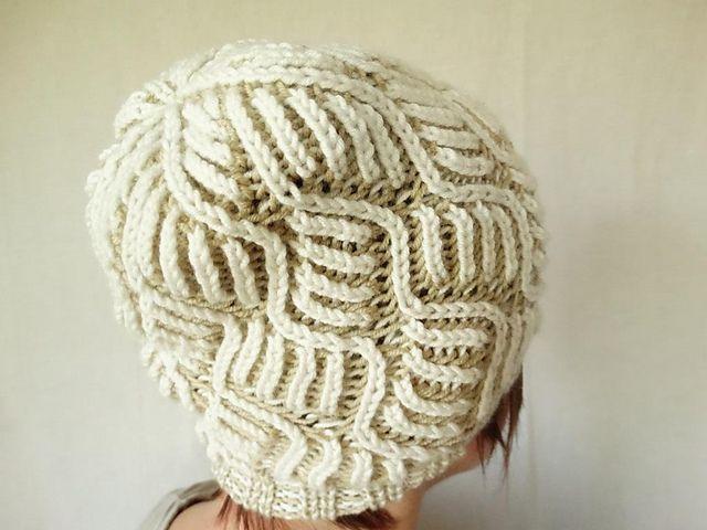 Creamy pattern by Janos Nemeth   Pinterest   Sombreros de ganchillo ...
