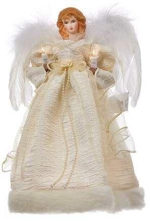 Kurt Adler Angel Lighted Tree Topper #Angel#Adler#Kurt Womens