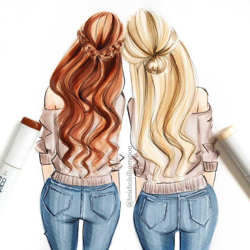 Pin by Alexandra Khan on Girls power   Best friend ...