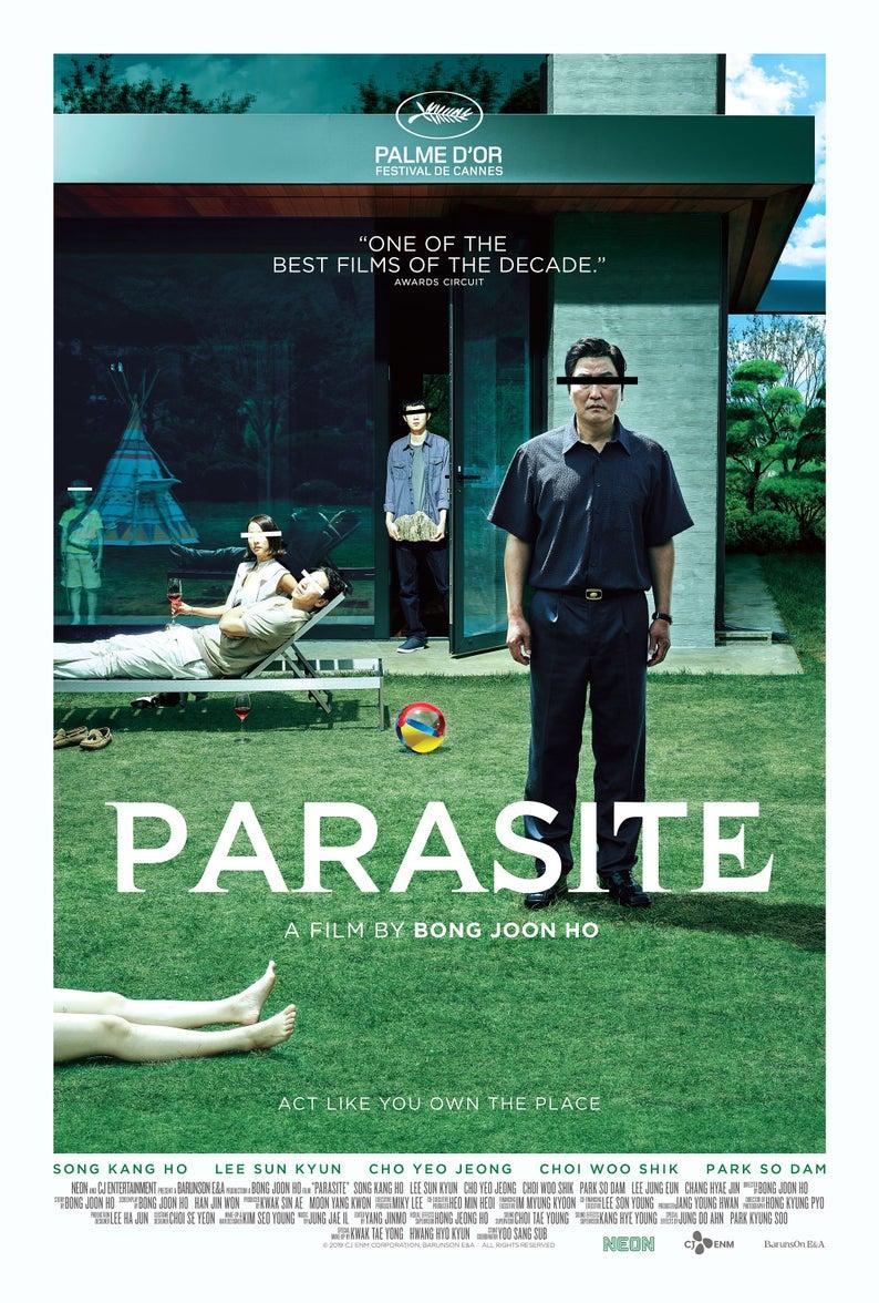 Parasite Movie Poster Glossy High Quality Print Photo Wall Art Bong Joon Ho Size 8x10 11x17 16x20 22x28 24x36 27x40 #1