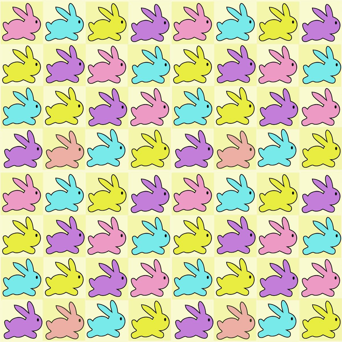 Free Digital Baby Bunny Scrapbooking Paper