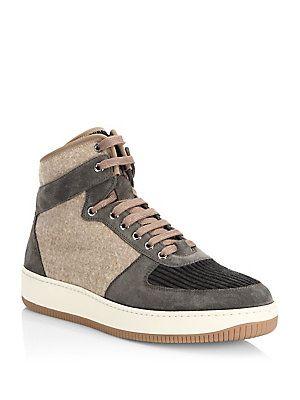 FOOTWEAR - High-tops & sneakers Brunello Cucinelli 6iekkA