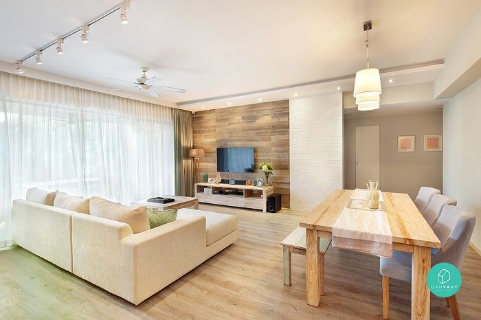 10 Cosy Scandinavian Style Hdb Flats And Condos You Must See The Singapore Women S Weekly Living Room Scandinavian Redecorate Living Room Home