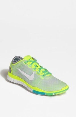 0a0fa9b2a06f6 Nike Free TR Connect Training Shoe Women Volt Green Turquoise Grey 5 M Nike