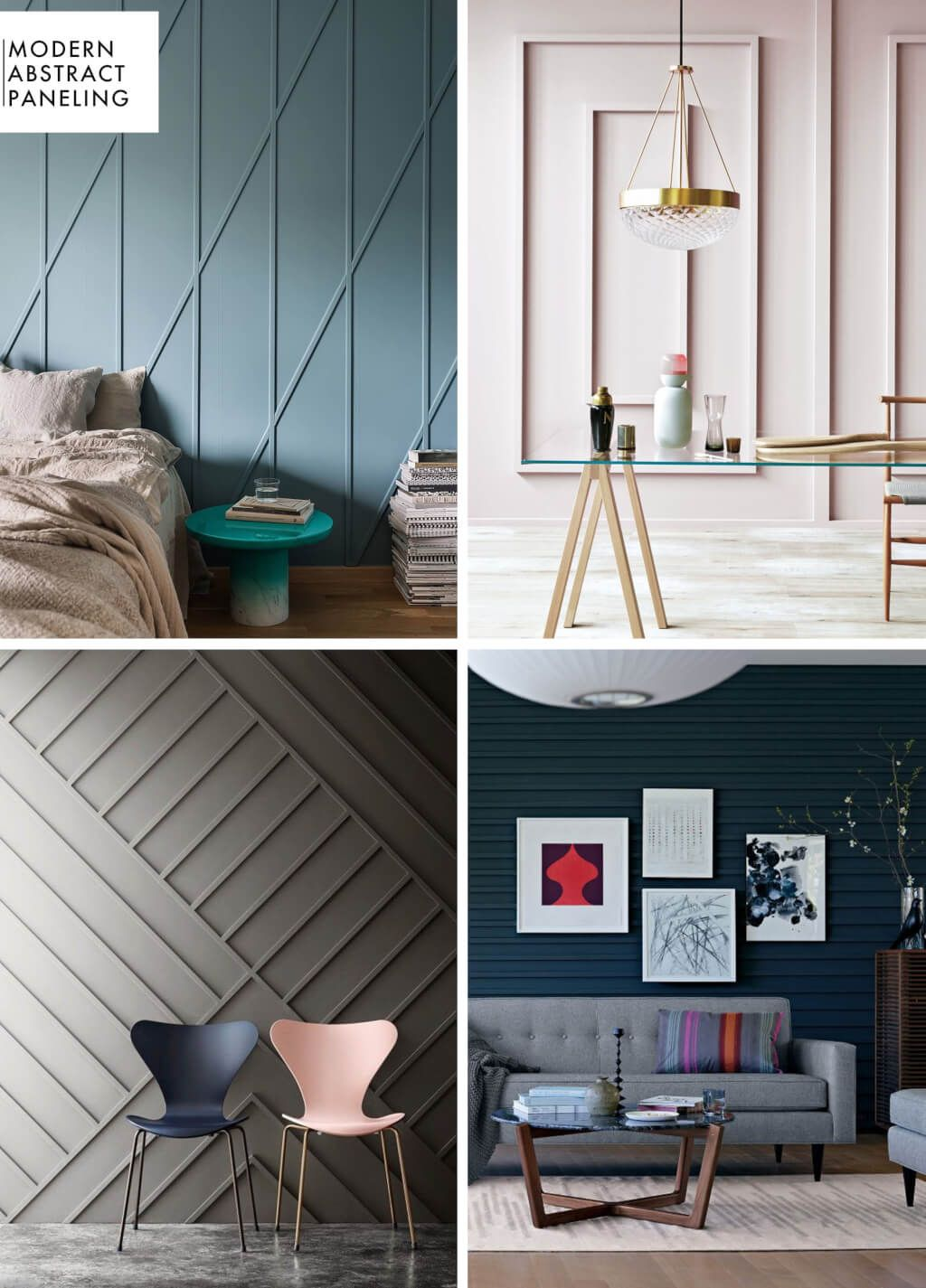 Add Character To Basic Architecture Wall Paneling A Roundup Emily Henderson Modern Wall Paneling Interior Design Home Decor