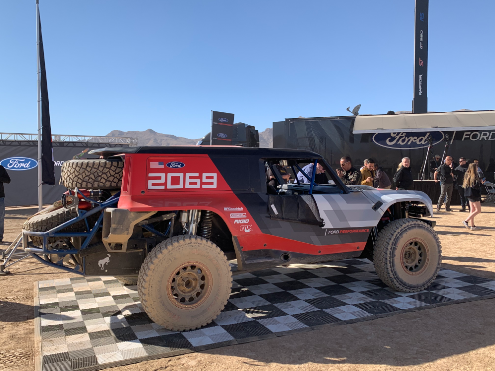 The 2020 Ford Bronco R Will Race At The Baja 1000 Ford Bronco