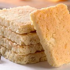 Gluten-Free Orange-Vanilla Shortbread
