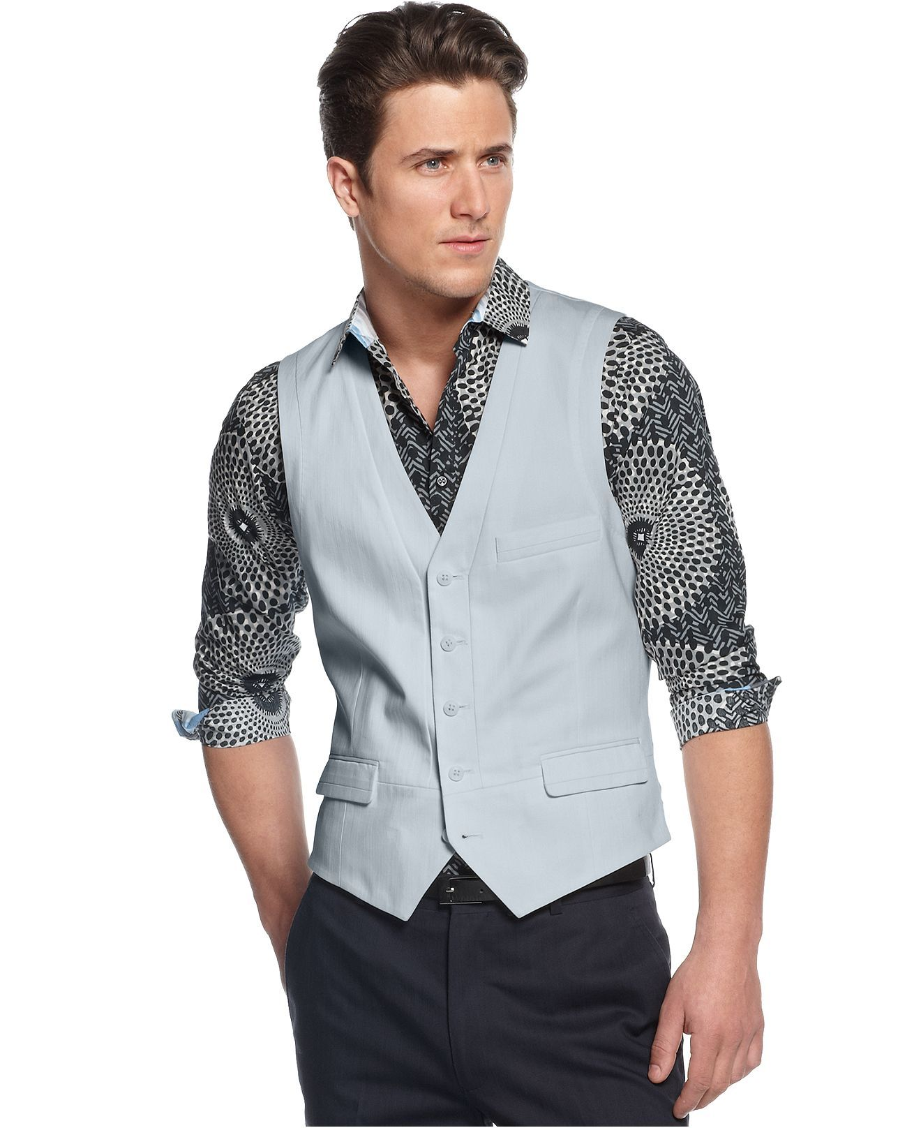 INC International Concepts Vest, Bennett Vest - Blazers & Sport Coats - Men - Macy's