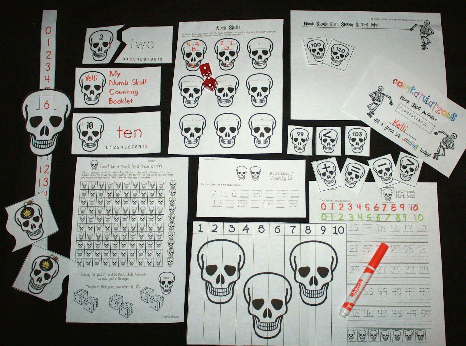 Common Core Skeleton Math Packet Math Packets Math Activities Free Math Activity [ 1191 x 1600 Pixel ]