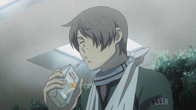Yoh and his juice box :P