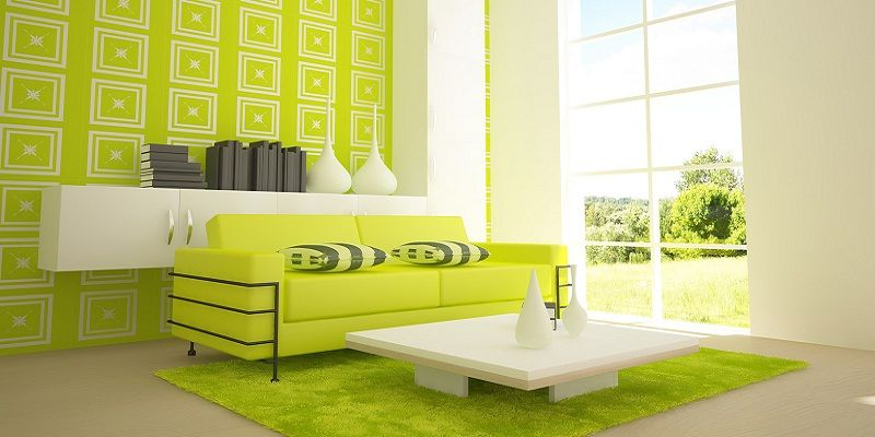 Elegant Modern Living Room Color Schemes by White Furniture on the ...