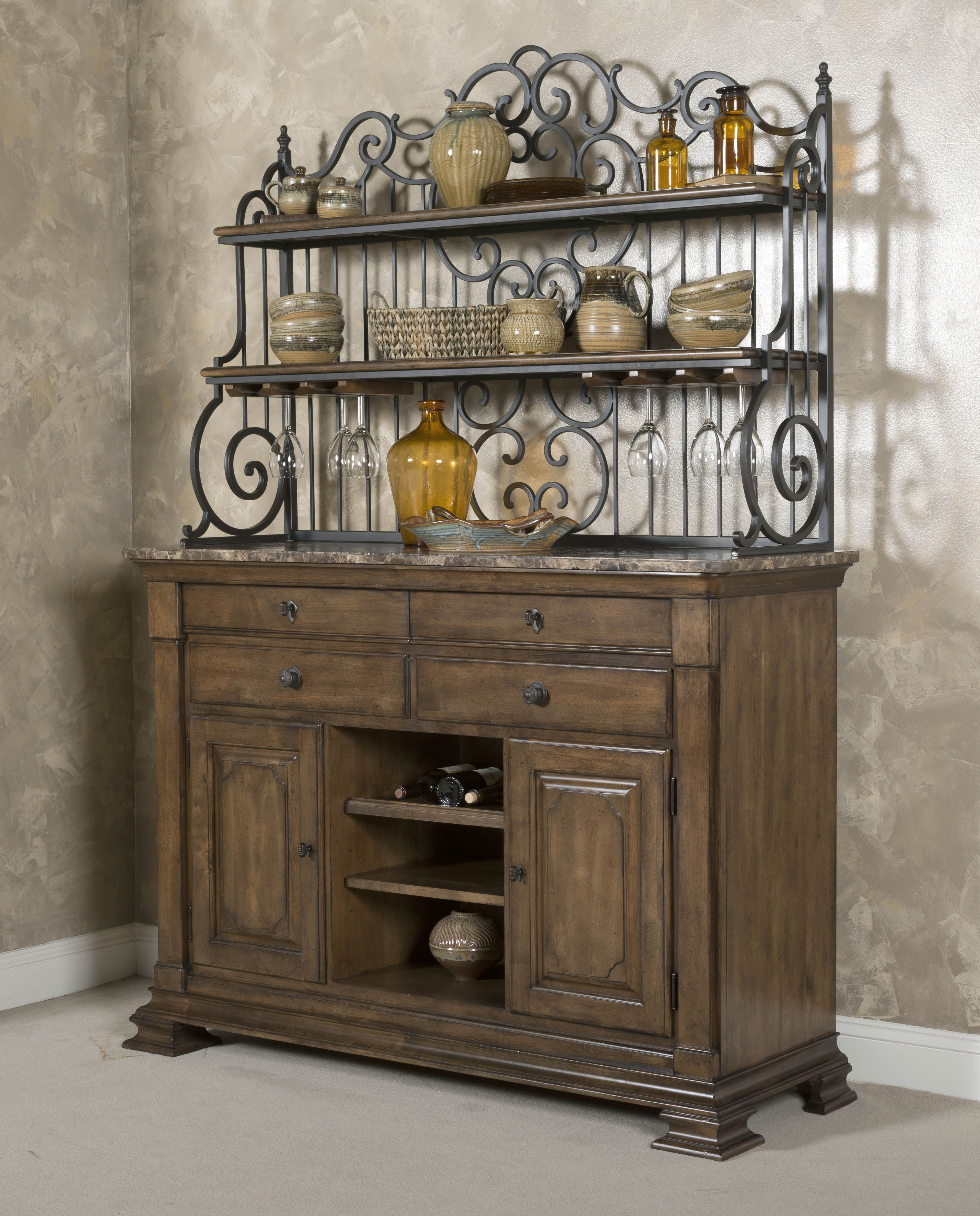 The Portolone Collection Is Made Of Solid Alder And Has An Old