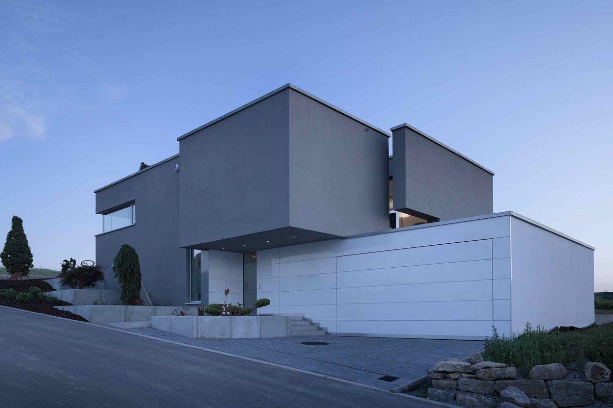 Liebel architekten haus ostalbkreis house rooms for Architekten bungalow modern