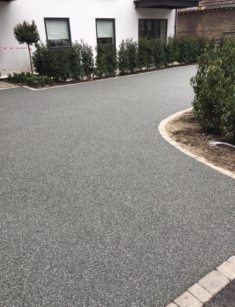 Image Result For Resin Bound Drive Grey House Exterior Exterior Gravel Driveway