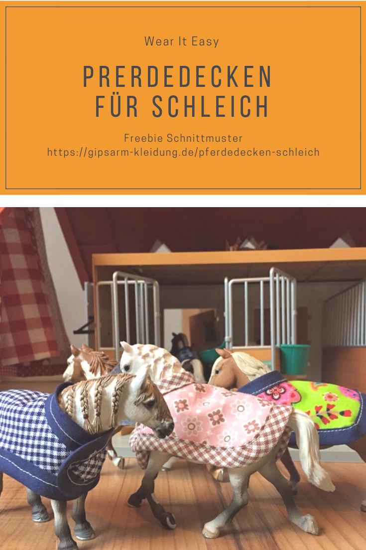 Photo of Decken für Schleich Pferde
